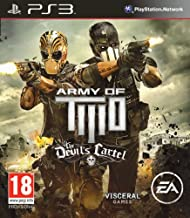 Army Of Two The Devil's Cartel Sony Playstation 3 PS3 Game UK PAL