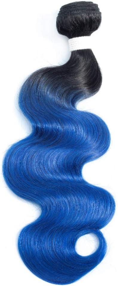 WOCTP Seven Color Body Wave Azul Verde Gris Claro 99j Cabello ...
