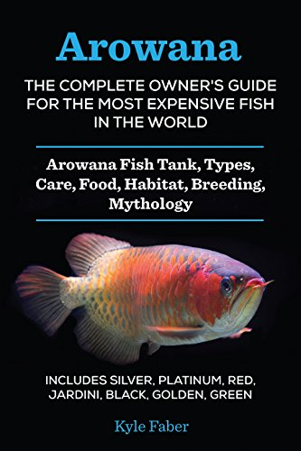 Arowana: The Complete Owner's Guide for the Most Expensive Fish in the World: Arowana Fish Tank, Types, Care, Food, Habitat, Breeding, Mythology – Silver, ... Black, Golden, Green (English Edition)