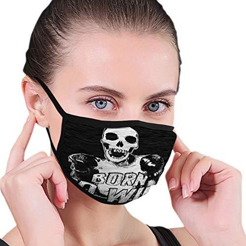 Mundabcover B5225 Thanksgiving Pumpkin Art halfgelaatsmasker mondmasker met oorbeschermer winddicht masker