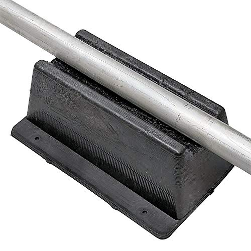 8 Pack Rooftop pipe Support (Made in USA)   11.75 inches x 8 inches   1000 lbs capacity   UV Resistant