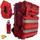 Pack sac à dos Randonnée style militaire Tactique Multifonction...