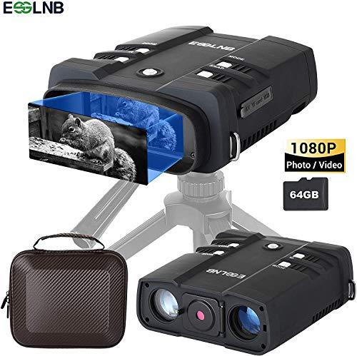 ESSLNB Nachtsichtgerät 10,8X Vergrößerung 1080P mit 64GB Karte und 8 AA Batterien 4