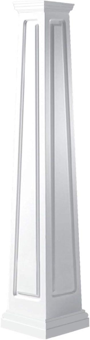 Ekena Millwork CC1008ETRTUTU Column White Super intense SALE Sale Special Price