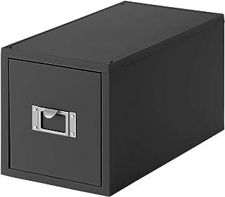 ライクイット (like-it) 収納 ケース CD ファイルユニット 幅17.3×奥35×高18.2cm オールグレー 日本製 MX-30