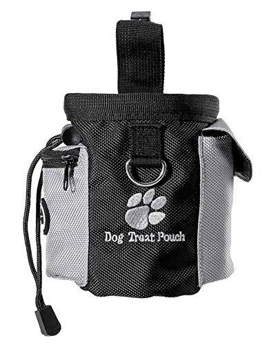 Rcoko Futterbeutel für Hunde,Hunde Leckerlitasche Snack Bag mit Clip &...