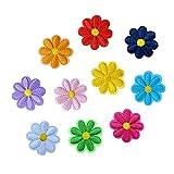 Scrox 1set Etiqueta de parche de flores DIY Accesorios de Vestir de Tela...