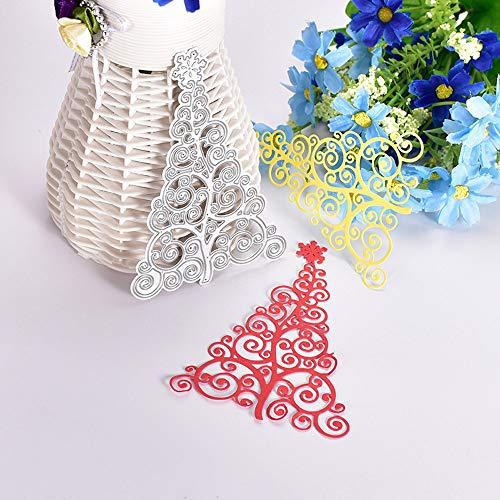 CANAFA Metal Cutting Dies Stencils Scrapbooking Embossing DIY Crafts for Sizzix Big Shot and Other Embossing Machines