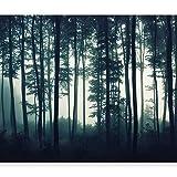 murando - Fototapete Wald 350x256 cm - Vlies Tapete -