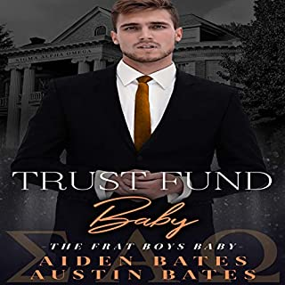 Trust Fund Baby: An Mpreg Romance audiobook cover art