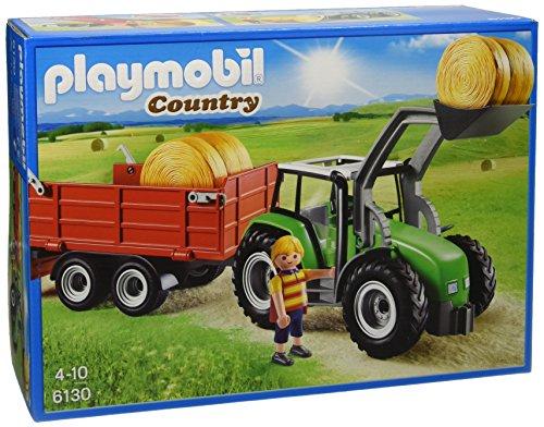 PLAYMOBIL - Tractor con tráiler (61300)