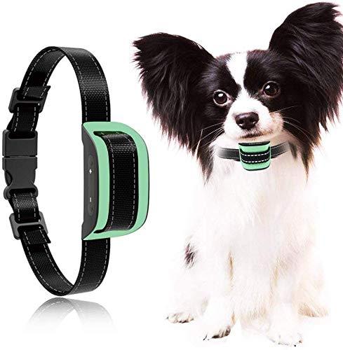 MASBRILL Deja de ladrar Collar de Perro 2019 Detección Inteligente Mejorada Collar de Perro pequeño ladrador con 7 Niveles progresivos Cuellos contra la Corteza para Perros de 2.5 a 25 kg