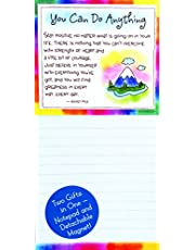 "Notepad with Detachable Magnet: You Can Do Anything, 3.5"" x 7.0"""