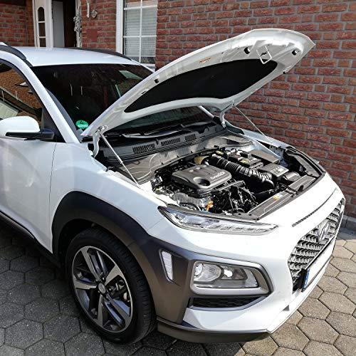 WES.Tuning Motor Haubenlifter Hyundai Kona 2017- (Paar) Hoodlift/Motorhaubenlifter