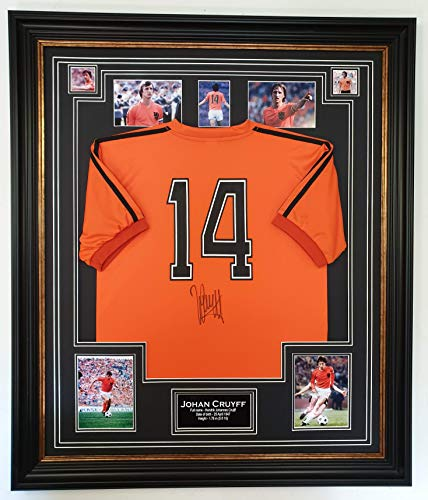Autogramm-Shirt von John Cruyff of Holland