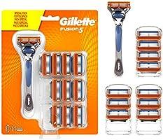 Gillette Fusion 5 scheermes voor heren met trimmer voor precisie en glijcoating, scheerapparaat + scheermesjes