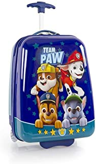 Nickelodeon PAW Patrol Lightweight Hardside Luggage for Kids - 18 Inch [Blue]