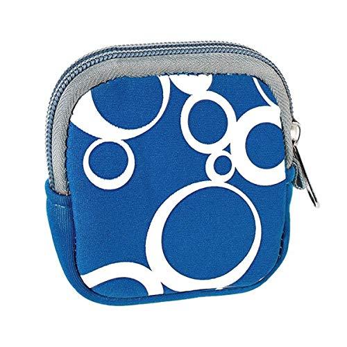 vyvy mobile Schutzhülle für Bosch Intuvia Display Tasche aus stoßfestem Neopren in blau E-Bike Pedelec Fahrradcomputer Schutz Cover