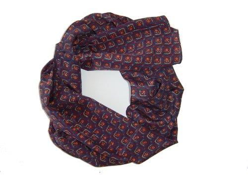 Trachtentuch en soie, trachtenschal herrentuch foulard 100% soie