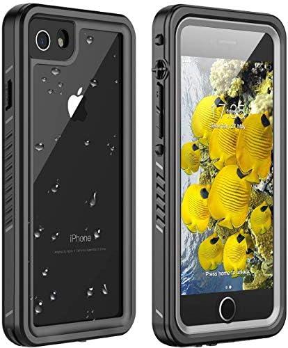Huakay iPhone 7 8 Waterproof Case iPhone SE 2020 Waterproof Case Full Body Shockproof Sandproof product image