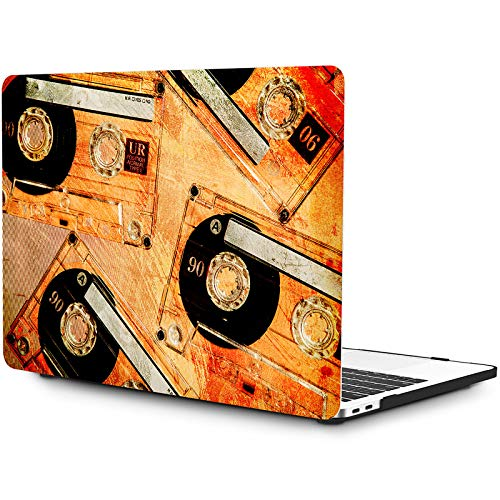 OneGET MacBook Pro 13 Inch Case with Touch Bar Laptop Case MacBook Pro 13 Inch 2016 2017 2018 2019 Release A2159 A1989 A1706 A1708 Cover for MacBook Pro Case 13 Inches Space (S129)