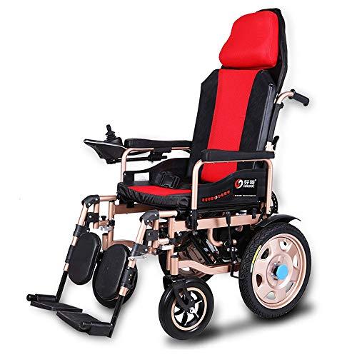 Wheel-hy Silla de Ruedas Eléctrica Plegable - Prim Ancho de Asiento 45 cm