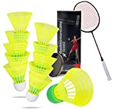 TK Gruppe Timo Klingler 5X Speedbadminton Federbälle schnell gelb Badmintonbälle für Training &...