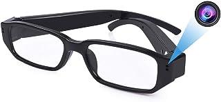 Hidden Glasses Camera - Super Small Surveillance Spy Camera - Video Loop Recording - Snapshot - Mini Digital Camera-USB Ch...