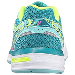 ASICS Women's Gel-Excite 4 Running Shoe, Lapis/Hot Pink/Safety Yellow, 8.5 M US