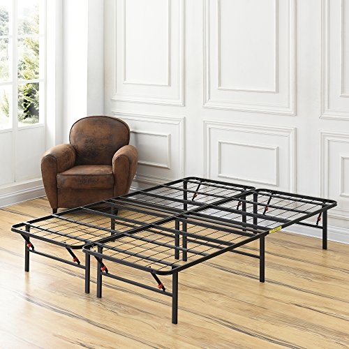 Classic Brands Hercules Heavy-Duty 14-Inch Platform Metal Bed Frame | Mattress Foundation, Full -