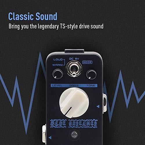 SONICAKE Blue Skreamer Vintage Dumble Blues Analog Overdrive Guitar Effects Pedal