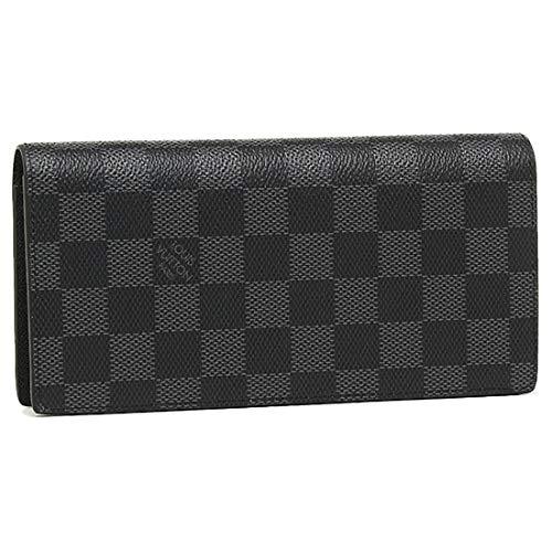 [ルイヴィトン] LOUIS VUITTONヴィトン ルイ ヴィトン財布 二つ折り長財布 N62665 ダミエグラフィット ポル...