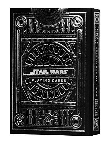 theory11 Star Wars Playing Cards Silver Edition - Dark Side (Grey) (STAR-WARS-BLACK-T11)