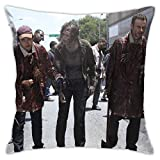FETEAM The Walk-ing Dead Throw Pillow Covers 18 'X 18' Pulgadas Sofá Decoración para el hogar Funda de Almohada Cuadrada Funda de Almohada Decorativa para la Cintura