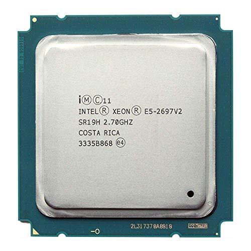 DIPU WULIAN Intel xeon e5 2697 v2 30 m QPI 8GT/s LGA 2011 SR19H C2 E5-2697 v2 CPU Prozessor 100% normal (überholt)