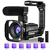 Best HD Video Cameras - Video Camera Camcorder Digital Youtube Vlogging Camera, 2.7K Review