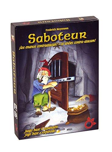 Freund – Saboteur, basisspel met uitbreiding, plankspel in Spaans – Portugees (kwik Distributions A0022)