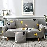 YHCJI Universelles All-Inclusive-Sofa-Set universal Single DREI-Bit einfache Moderne elastische Stoff Vollbezug Sofa Dreier 190-230cm Einfache Liebe