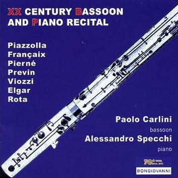 20th Century Bassoon and Piano Recital