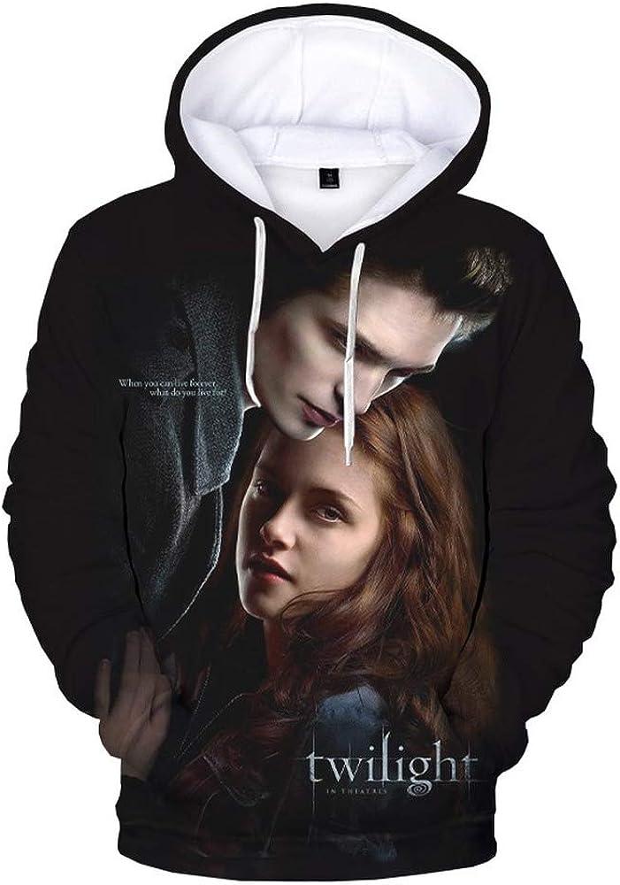 The Twilight Saga 3D Print Hoodie Sweatshirts Men Women Fashion Casual Cool Pullover Harajuku Streetwear Hoodies