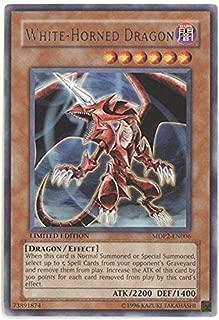 Yu-Gi-Oh! - White-Horned Dragon (MDP2-EN006) - McDonalds Promo Cards Series 2 - Promo Edition - Rare