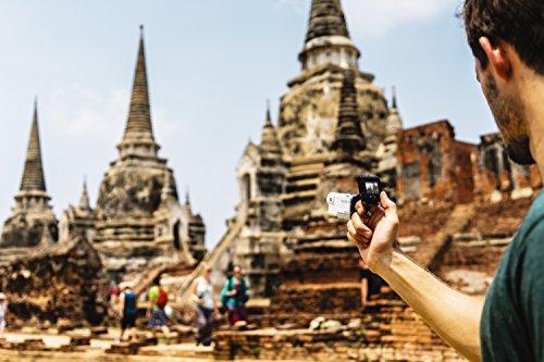 Sony FDR X3000R - Action Cam 4k (con Balanced Optical SteadyShot, Wifi, GPS, kit con Finger grip AKAFGP1)