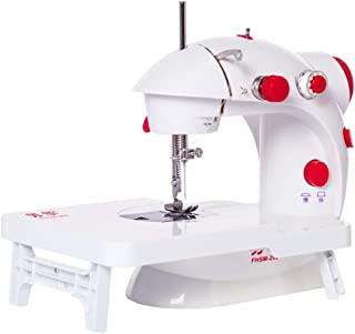 Sewing Machines for Beginners, Embroidery Machine Crafting Mending Machine, Two Speeds, with Extension Table, with Foot Pe...