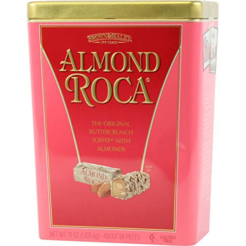 Almond Roca Buttercrunch Toffee 39oz Tin
