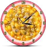 Reloj de pared grande Reloj de cocina Rebanada digital Fruta