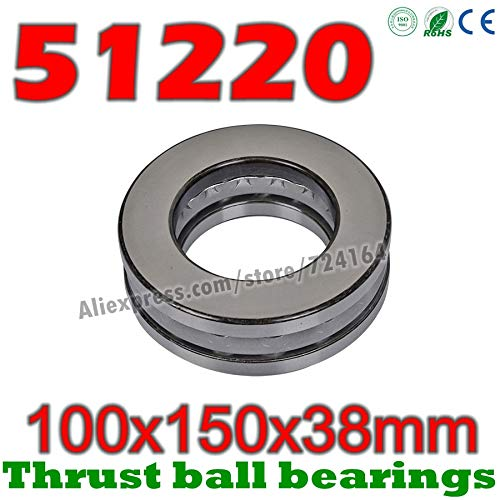 Best 38 millimeters thrust ball bearings review 2021 - Top Pick