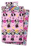 new import licencias Minnie Mouse. Referencia NI Juegos de sábanas y Fundas de Almohada Alfileres para faldón de Cama Textiles del hogar Unisex Adulto, Multicolor (Multicolor), única