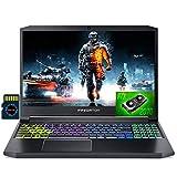 2021 Acer Predator Triton 300 15 Premium Gaming Laptop I 15.6' FHD IPS 144Hz I Intel Hexa-Core i7-10750H I 64GB DDR4 1TB SSD I RTX 2070 8GB RGBBacklit WiFi HDMI Win 10 + Delca 32GB Micro SD Card