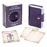 Pocket Compendium: Tome of Dread - Customizable RPG Item, Spellbook, & Reference Card Holder - Tabletop Fantasy Game Beginner Accessory - Includes 54 Custom Blank Poker-Size Player Cards