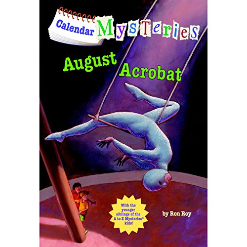 August Acrobat audiobook cover art